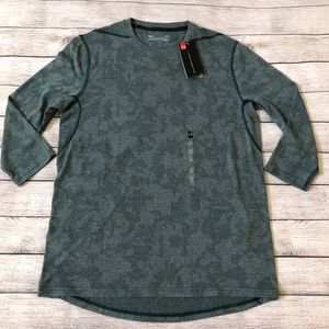 Under Armour Threadborne ¾ Sleeve T-Shirt Size L